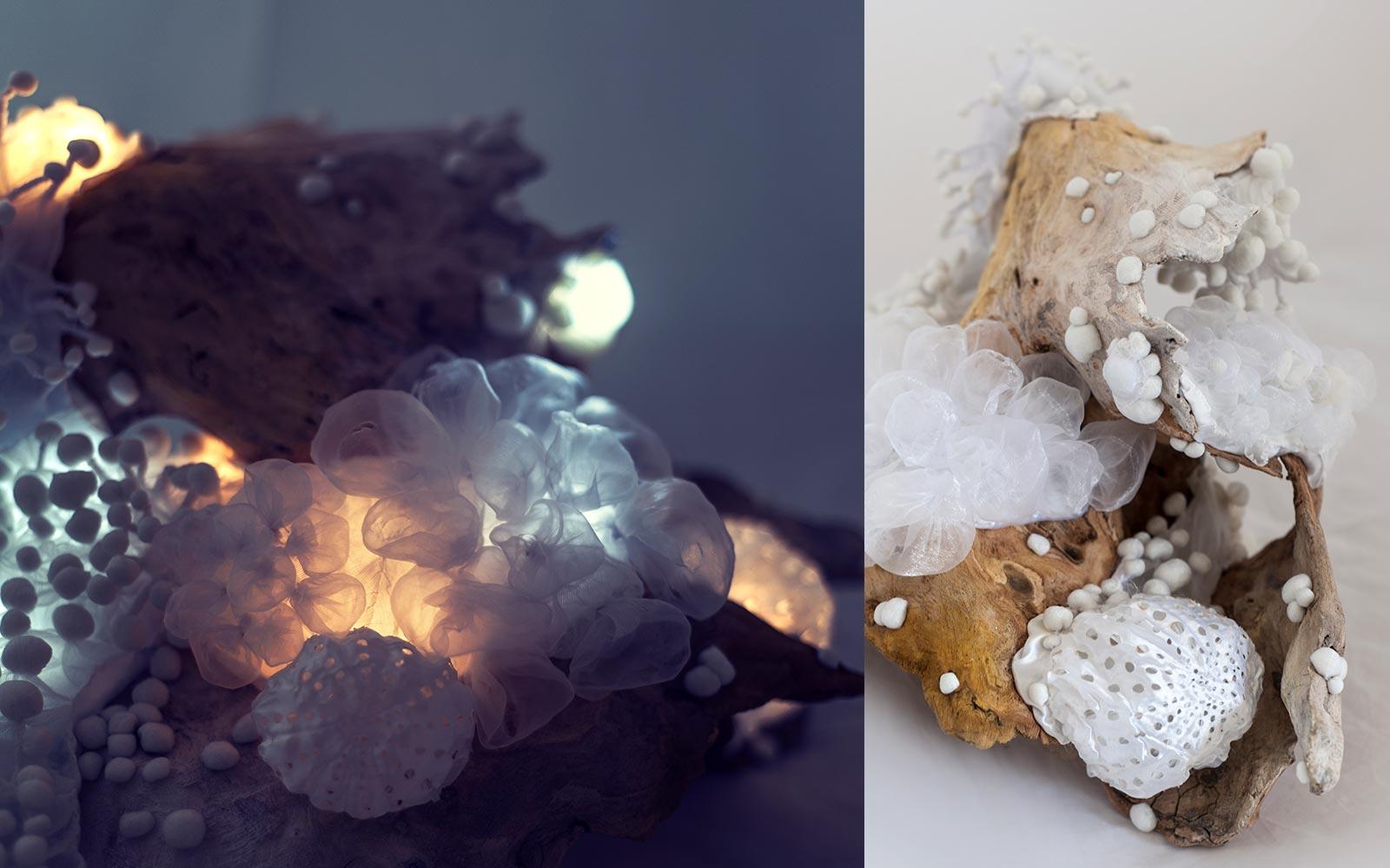 The Deep No.2 — svítící objekt Evy Spacelights Nečasové