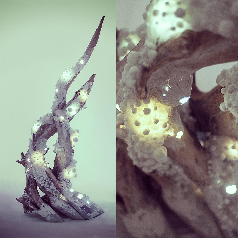 Jeřabina — svítící objekt Evy Spacelights Nečasové