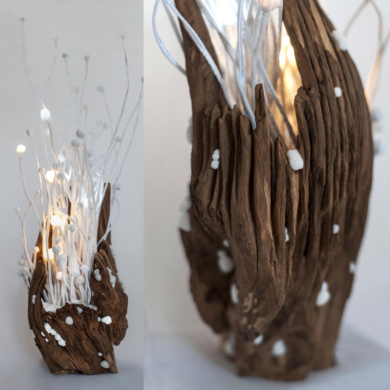 Ořešák — svítící objekt Evy Spacelights Nečasové