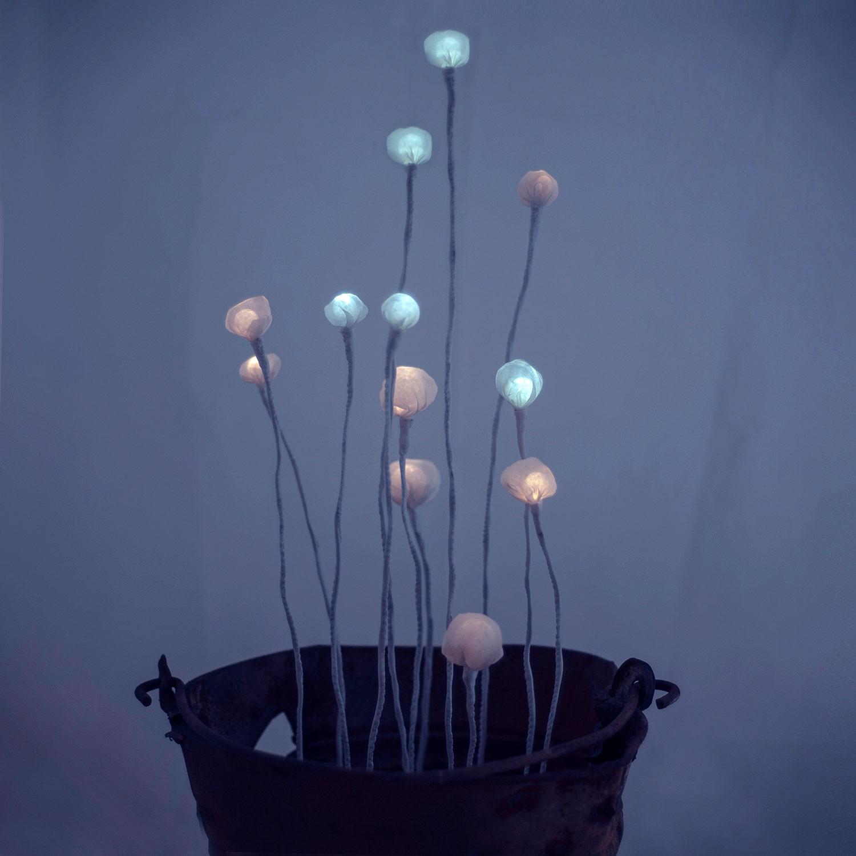Kýbl — něžný svítící objekt Evy Nečasové, Spacelights
